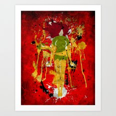 Splash of Phoenix Art Print