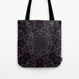 Branching Rainbow Fractal Kaleidoscope 2 Tote Bag