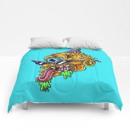 slimy cyclops Comforters
