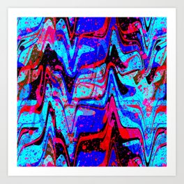 RHYTHM & BLUES Art Print