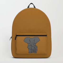 Elephant family Backpack
