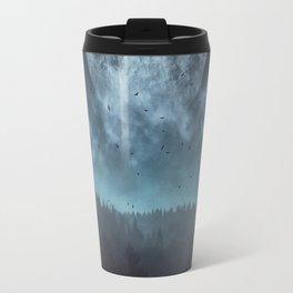 Moon over Trees Travel Mug