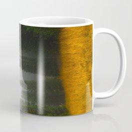 Olive Green Pines Coffee Mug