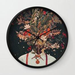 Foliage Wall Clock
