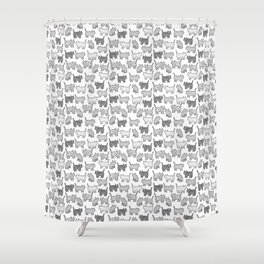 Pattern cats Shower Curtain