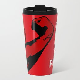 CAN YOU FEEL THE PUMP? FITNESS SLOGAN CROSSFIT MUSCLE Travel Mug