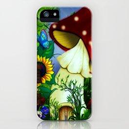 MuShroom Gully Fantasy Art iPhone Case