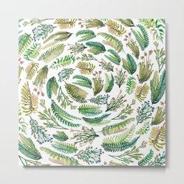 circular garden Metal Print