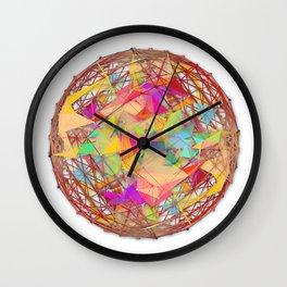 Abstract String Ball Wall Clock