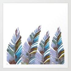Areca Palm vintage Art Print