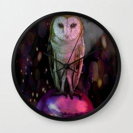 Labyrinth Owl Wall Clock