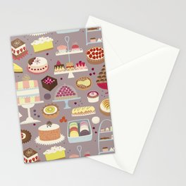 Patisserie Cakes and Good Things Stationery Cards