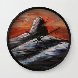 Black Tusk Wall Clock