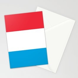 Flag of Luxembourg Stationery Cards