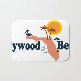 Hollywood Beach - Florida. Bath Mat