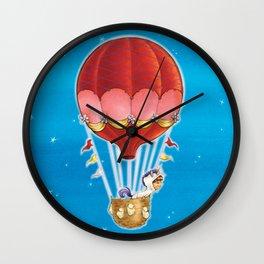 Goodnight Unicorn Balloon Kid Wall Clock