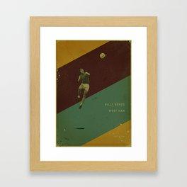 West Ham - Bonds Framed Art Print