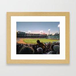 Fenway Framed Art Print