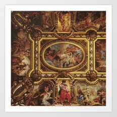 Ceiling of the Palais Garnier Art Print