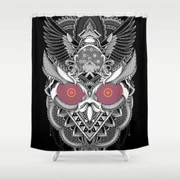 The Random Dimension Shower Curtain