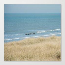 Sea ride Canvas Print
