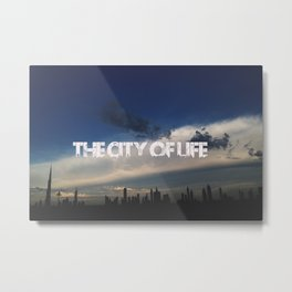 The city of life // #DubaiSeries Metal Print