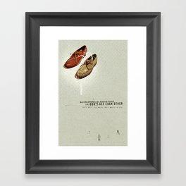 Them | Collage Framed Art Print