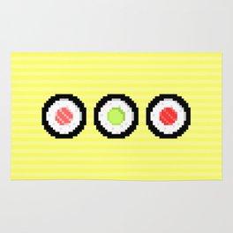 Pixel Maki Sushi Rug