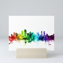 San Diego California Skyline Mini Art Print