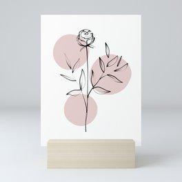 Delicate Botanicals Rosa Mini Art Print