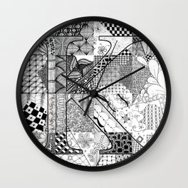 Small K Wall Clock