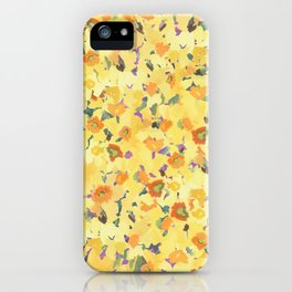 Daffodil Fields iPhone Case