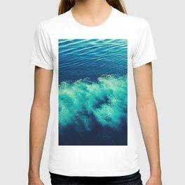 abstract sea T-shirt