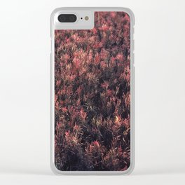 Glasswort Clear iPhone Case