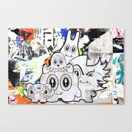 Sugar Monsters Canvas Print