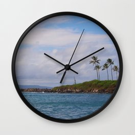 Kapalua Bay Wall Clock