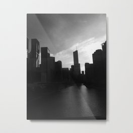 Connecting the waters of chicago Metal Print