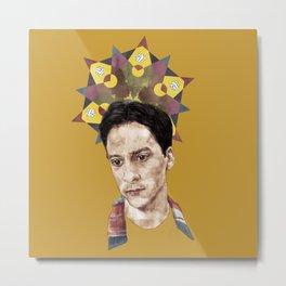 Abed Metal Print