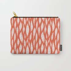 Quail Feathers (Poppy) Carry-All Pouch