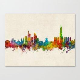 Ho Chi Minh City Saigon Vietnam Skyline Canvas Print