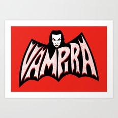 Vampira! Art Print