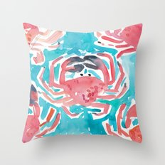 Crabs Throw Pillow