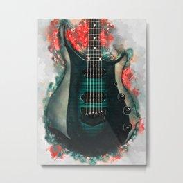 John Petrucci's electric guitar Metal Print