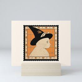 Witch Cat Mini Art Print
