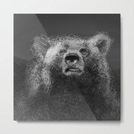 Sacred Bear Metal Print