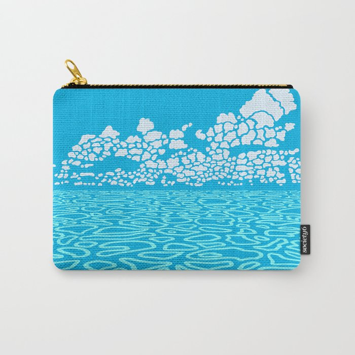 Tropical Ocean by Black Dwarf Designs Carry-All Pouch