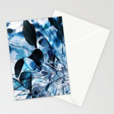 blue flower Stationery Cards