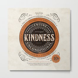Kindness Metal Print