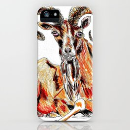 Urial iPhone Case