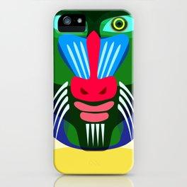 mandril iPhone Case